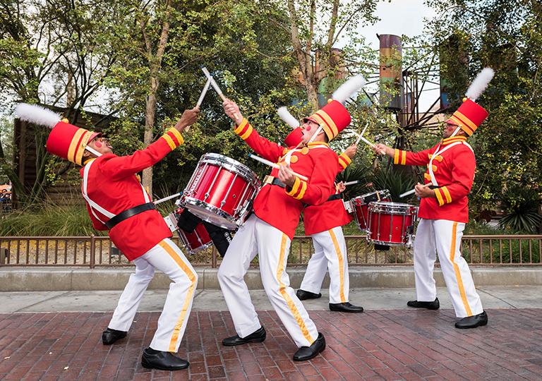 Drummers Christmas Celebration