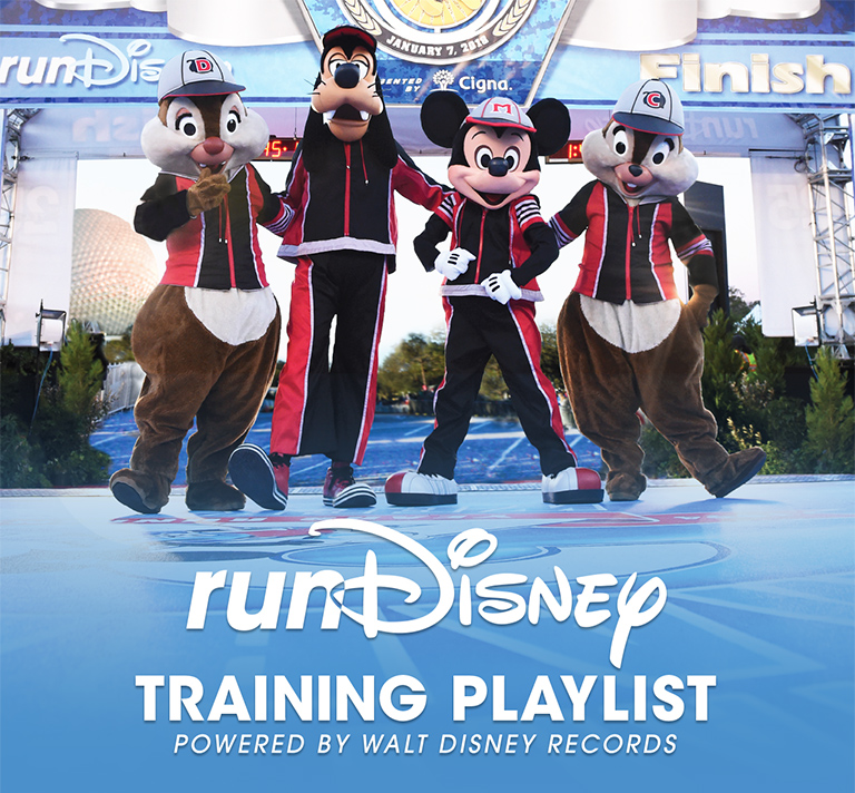 runDisney spotify playlist