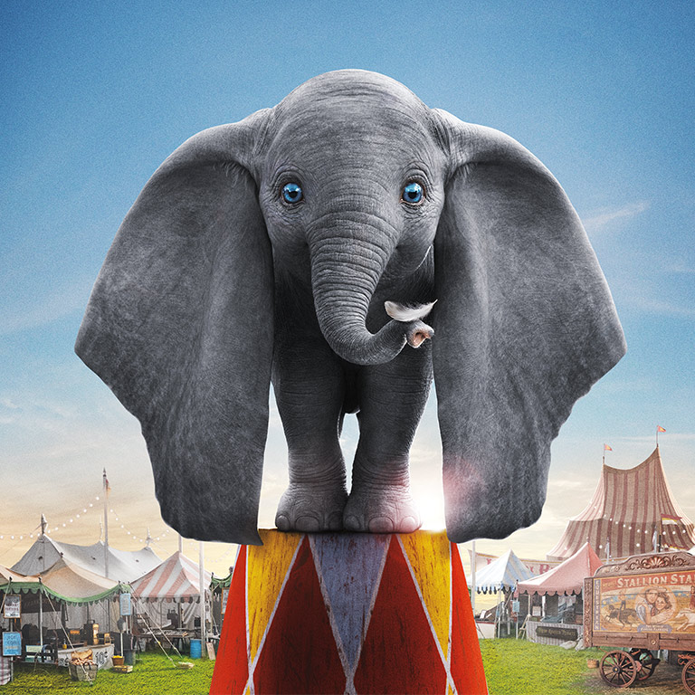Dumbo at the circus