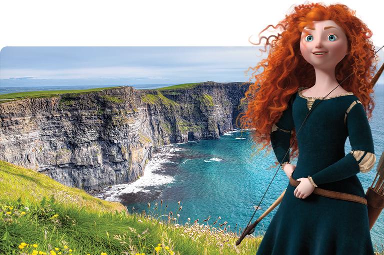 Ireland Disney Cruise Line Merida