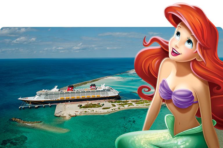 Castaway Cay Disney Cruise Line Ariel