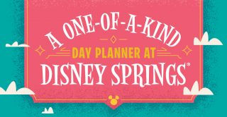 One-of-a-Kind Day Planner at Disney Springs