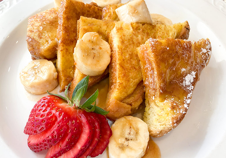 PCH grill french toast banana foster