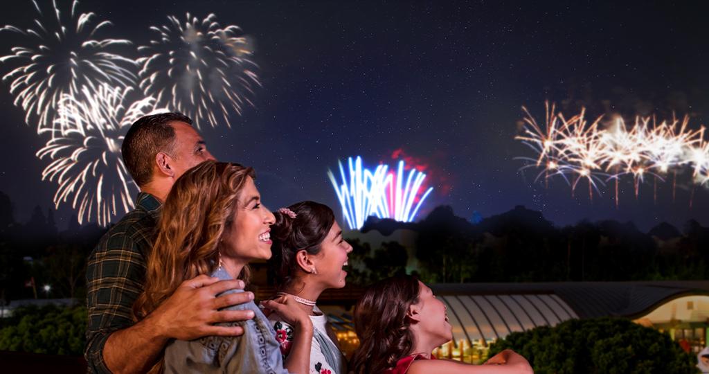 Fireworks at the Disneyland® Resort Hotels | Disney® Visa® Credit Card