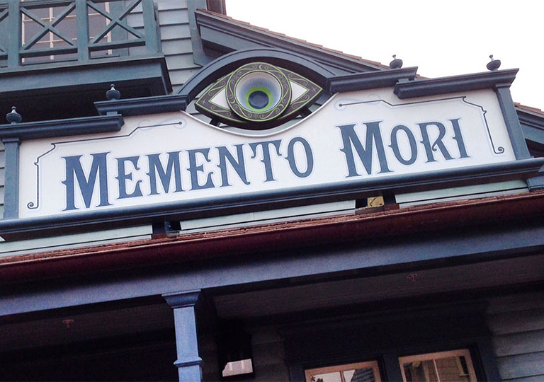 Memento Mori Disney's Magic Kingdom Shopping
