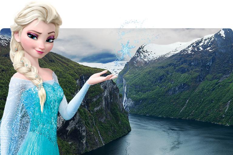 Disney Cruise Line Elsa Norway