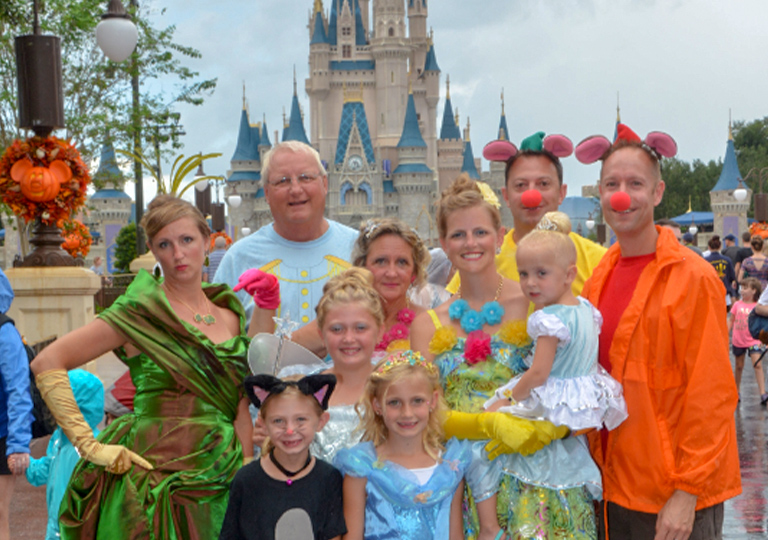 Family trip to Walt Disney World