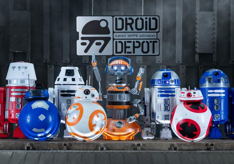 Walt Disney World Droid Factory