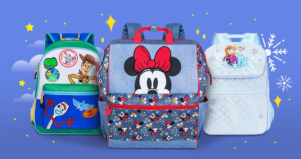 Disney Toy Story Minnie Mouse and Frozen Backpacks