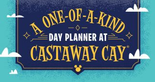 A one-of-a-kind day planner at Castaway Cay