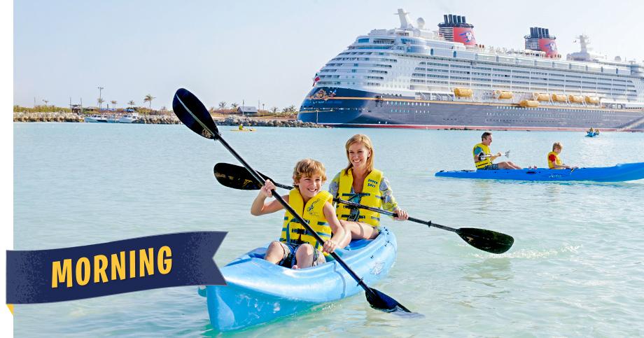 Disney Cruise Line Kayaking