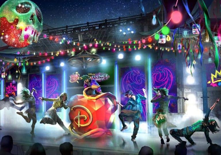 Disney Decendance dance