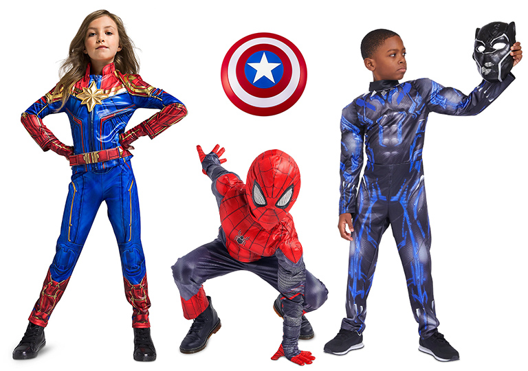 Disney hero costumes