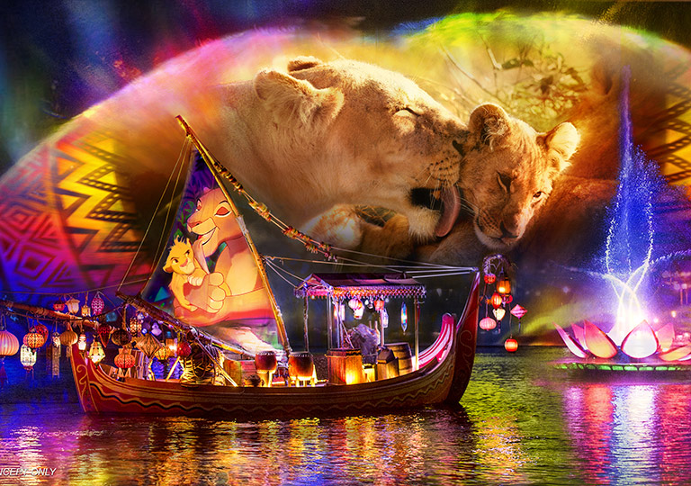 Rivers of Light Lion King