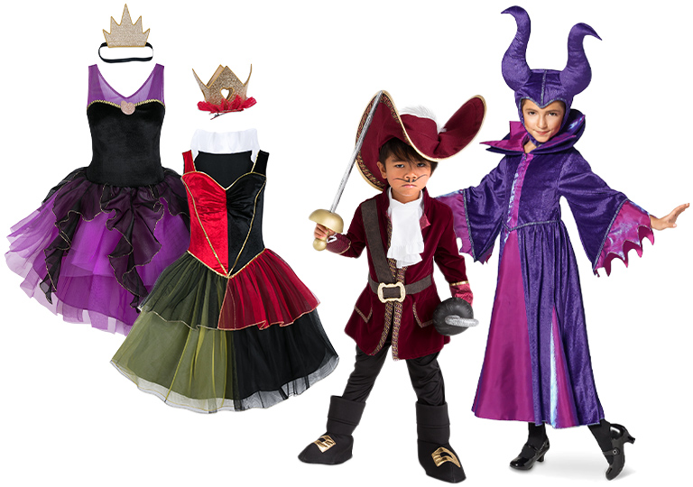 Disney Villan Kid Costumes