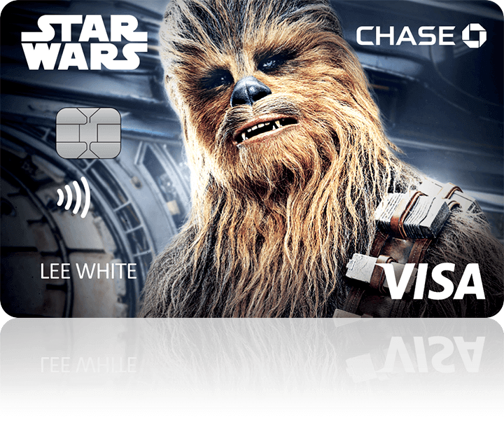Chewbacca Card Front with Shadow