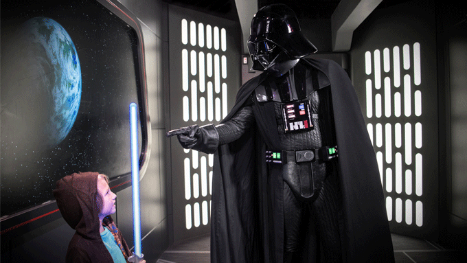 Darth Vader with Kid