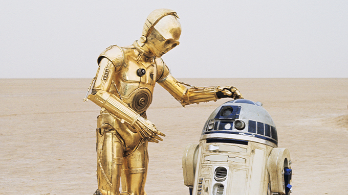 C3-P0 and R2-D2