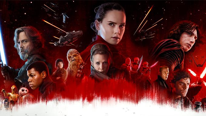 Cast of The Last Jedi