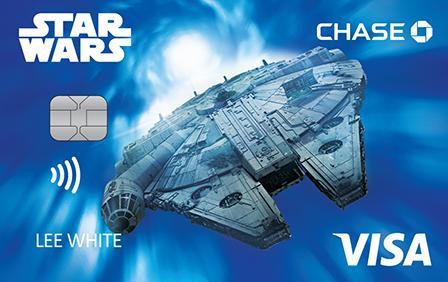 Star Wars Millennium Falcon Card Art