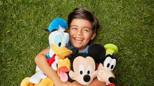 Boy with Mickey & Pals