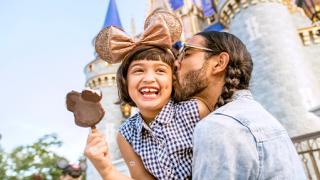 Family at Walt Disney World