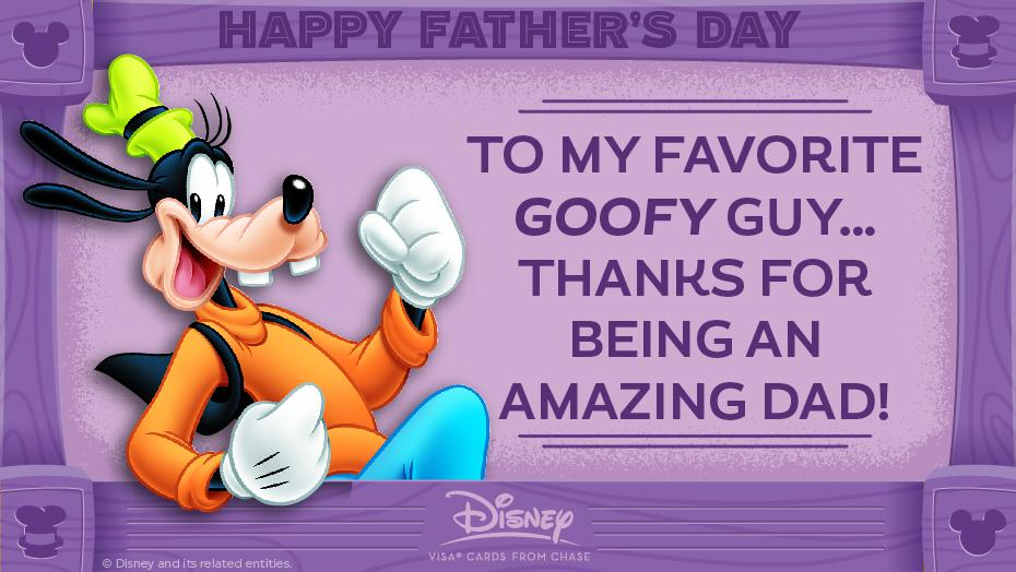 Disney Father Day Goofy