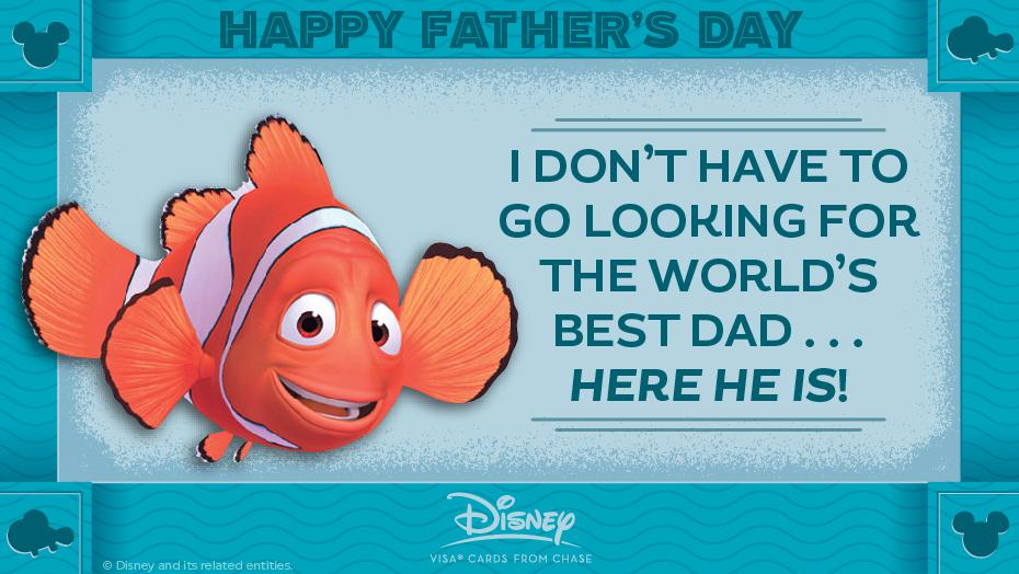 Disney Father Day Marlin