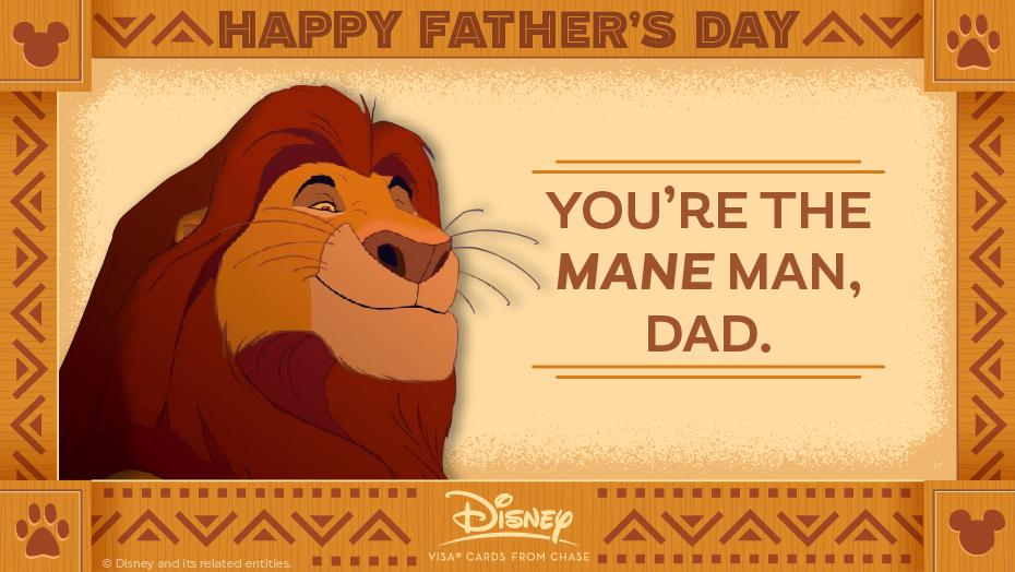 Disney Father Day Mufasa