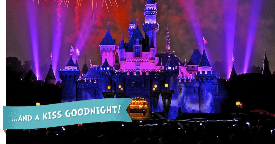 Disney Good Night Kiss