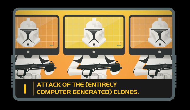 Storm troopers clones