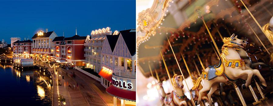 Boardwalk Inn Carousel