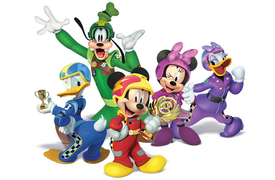 Mickey and Roadside Racers