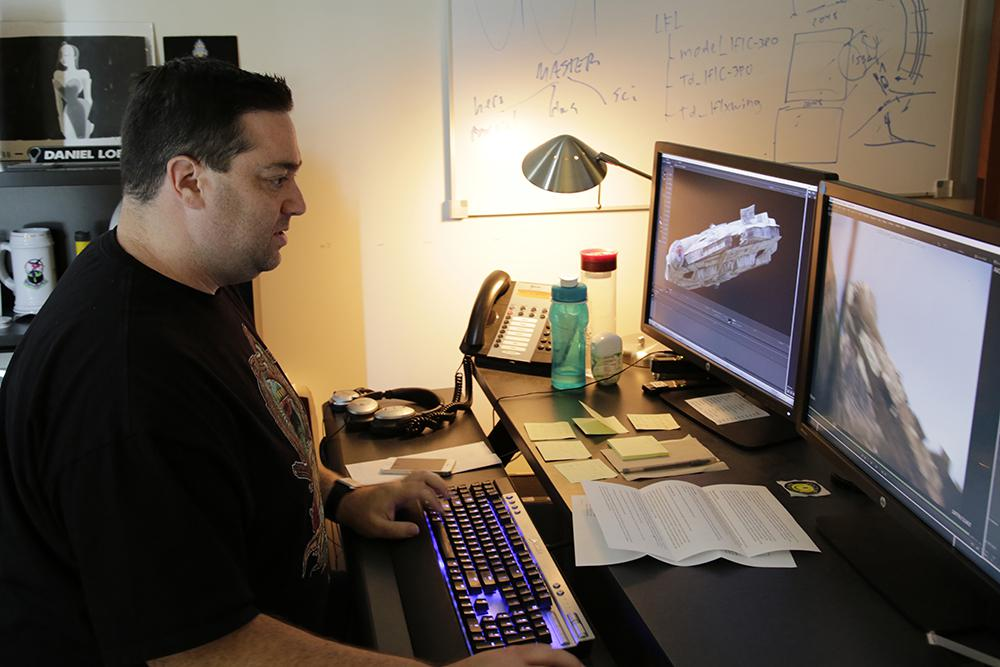 Dan Lobl, Lighting Technical Director Supervisor at ILM