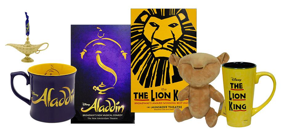Disney on Broadway Merchandise Keepsakes