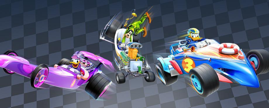 Donald Daisy Goofy Racers