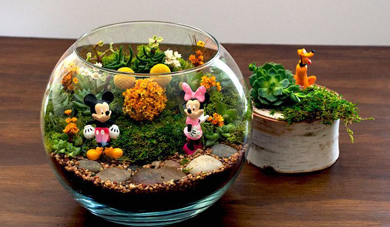 Disney DIY Terrarium