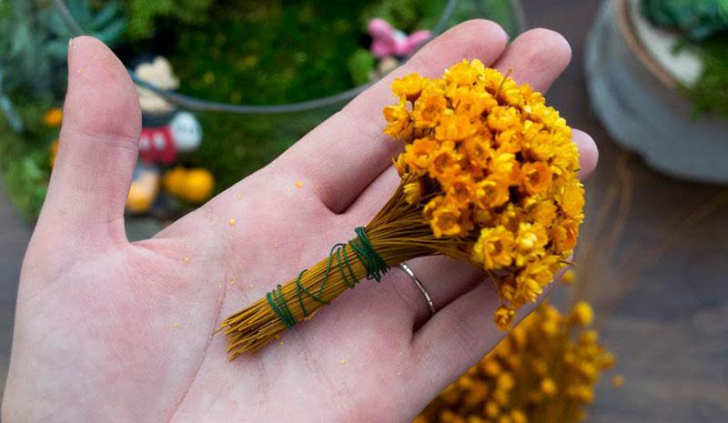 Mickey Shaped Flower DIY Step 3