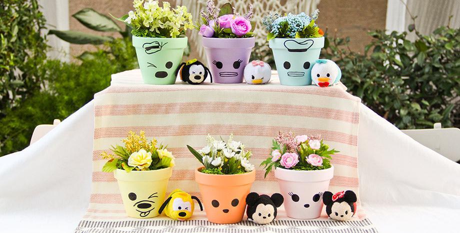 Disney Pastel Pots