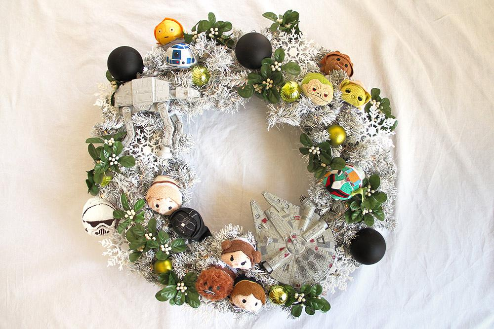 White Star Wars Wreath