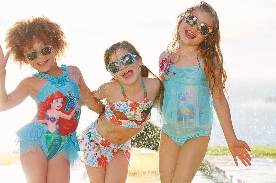 Disney Swim Girls