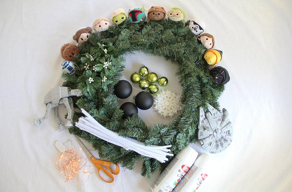 Disney DIY Wreath Supplies